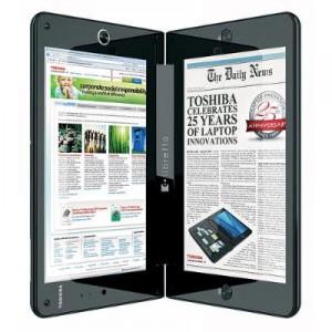Dünyadaki İlk Çift Ekranlı Laptop