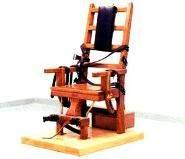 Dünyadaki İlk Elektrikli Sandalyede İdam