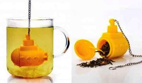 ilginç poşet çay