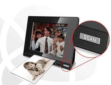 scanner dijital çerçeve