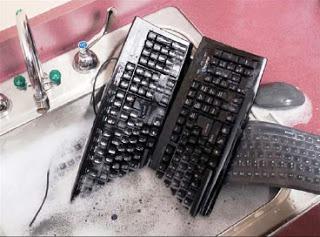 yıkanabilir klavye