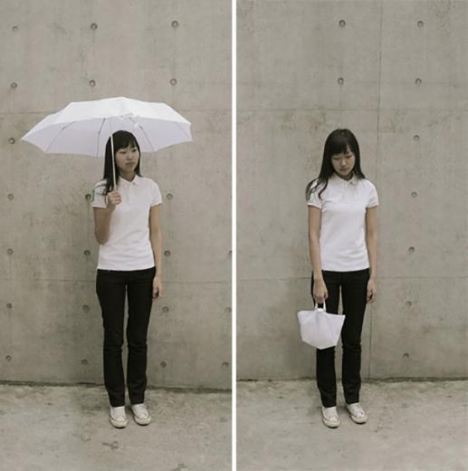 Çanta Haline Gelen Şemsiye