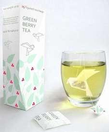 İlginç Poşet Çay Tasarımları